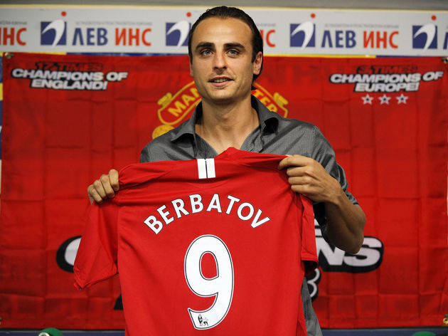 Manchester United's new player Dimitar B