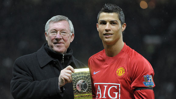 Manchester United's Portuguese midfielde