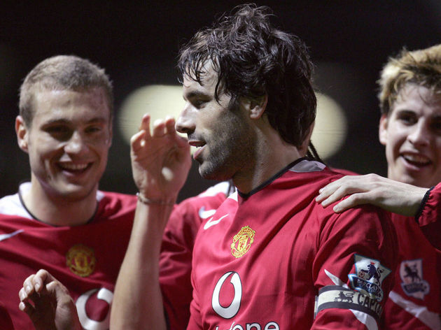 Manchester United's Ruud van Nistelrooy(