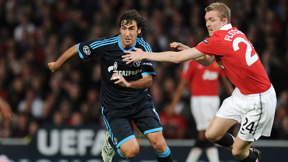 Manchester United's Scottish midfielder