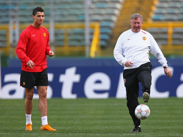 Sir Alex Ferguson,Cristiano Ronaldo