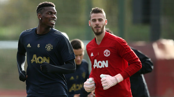 Paul Pogba,David De Gea