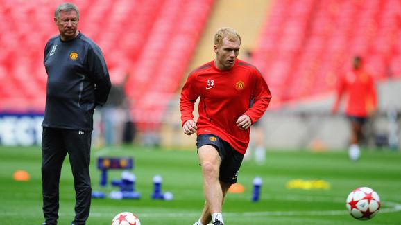 Sir Alex Ferguson,Paul Scholes