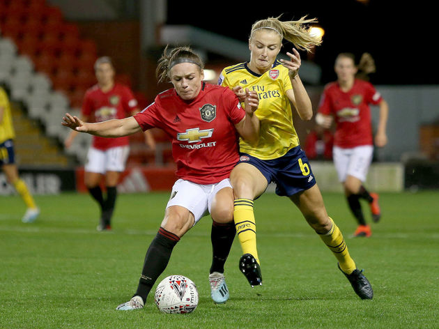 Leah Williamson,Kirsty Hanson
