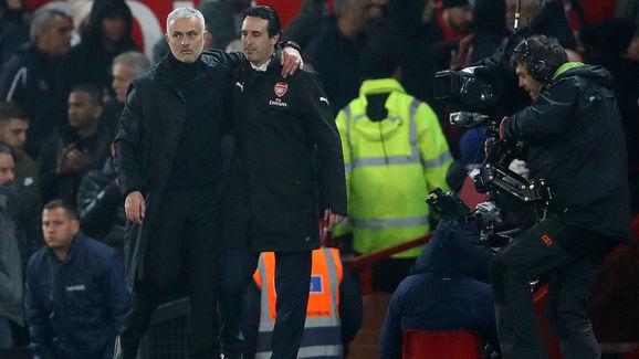 Jose Mourinho,Unai Emery