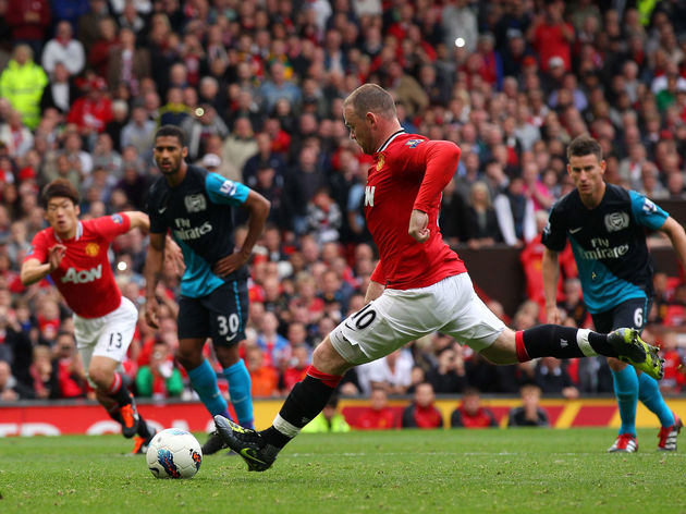 Man Utd 8 2 Arsenal When An Ashley Young Brace Wayne Rooney Hat Trick Saw The Gunners Humiliated 90min