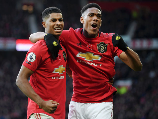 Anthony Martial,Marcus Rashford