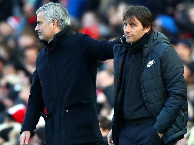 Jose Mourinho,Antonio Conte