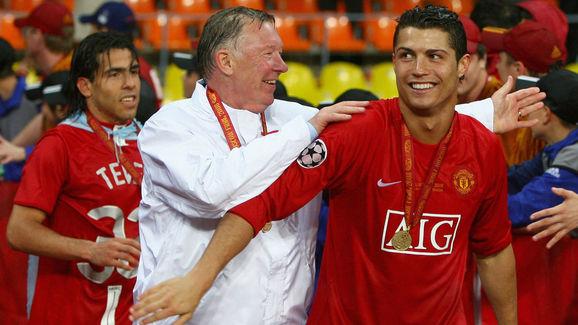 Alex Ferguson,Cristiano Ronaldo