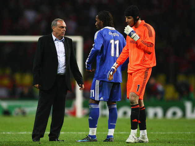 Avram Grant,Didier Drogba