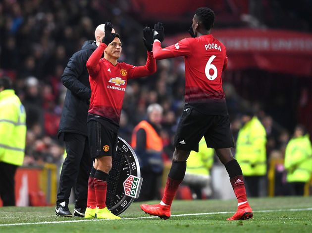 Paul Pogba,Alexis Sanchez