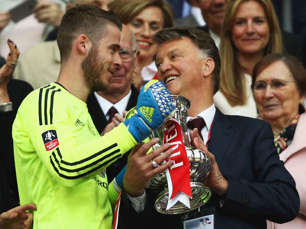 Louis van Gaal,David De Gea