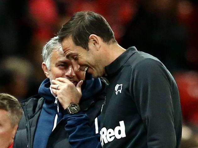 Frank Lampard,Jose Mourinho