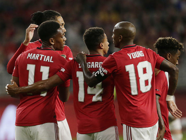 Anthony Martial,Jesse Lingard,Ashley Young