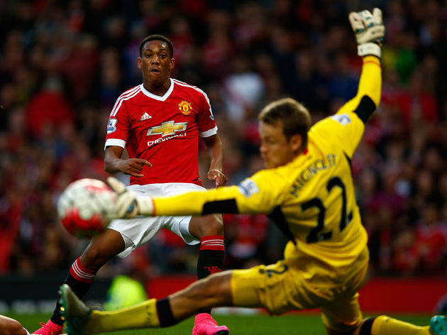 Anthony Martial,Simon Mignolet