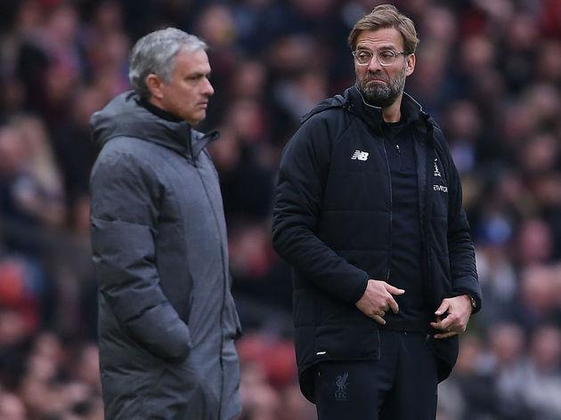 Jose Mourinho,Jurgen Klopp