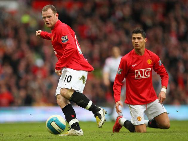 Cristiano Ronaldo,Wayne Rooney
