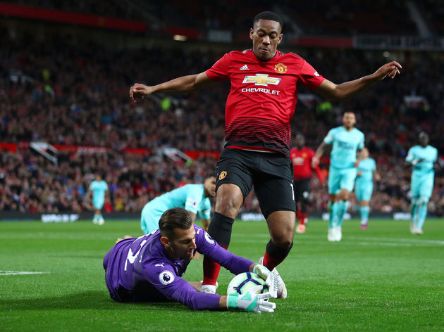 Anthony Martial,Martin Dubravka