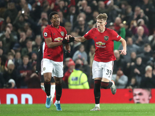 Anthony Martial,Scott McTominay