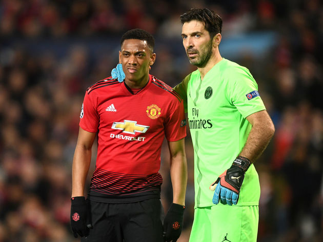 Anthony Martial,Gianluigi Buffon