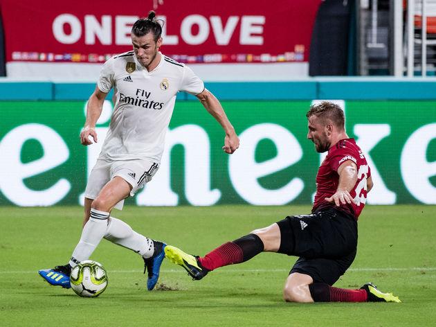Gareth Bale,Luke Shaw