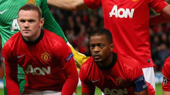 Wayne Rooney,Patrice Evra