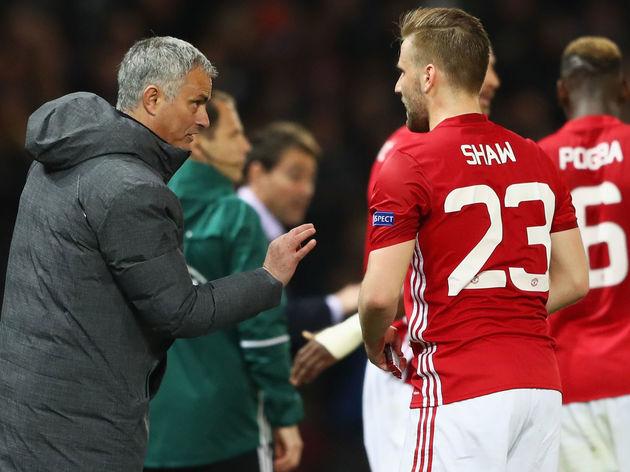 Jose Mourinho,Luke Shaw