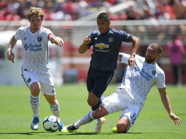 Manchester United v San Jose Earthquakes