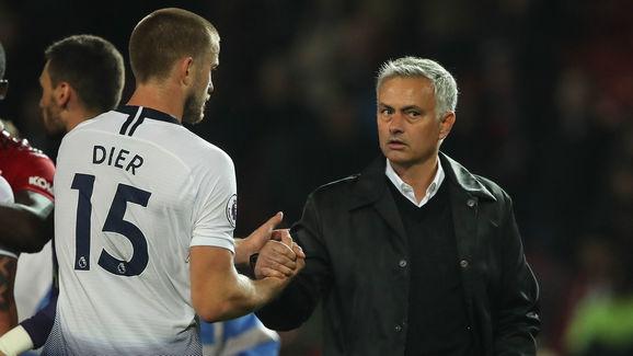 Eric Dier,Jose Mourinho