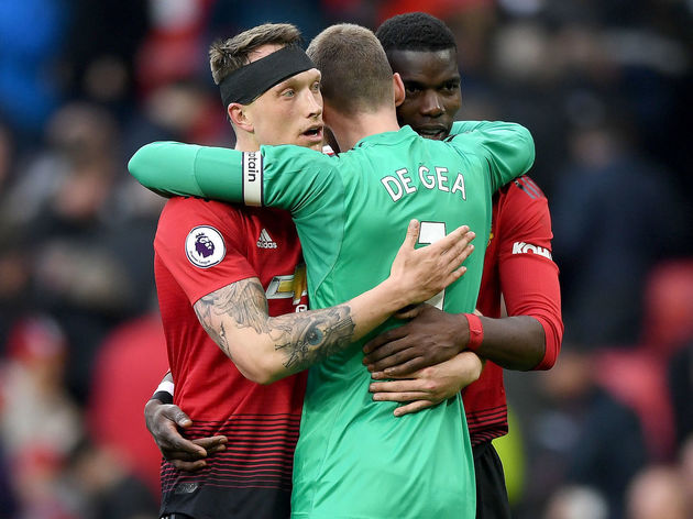 David De Gea,Paul Pogba,Phil Jones