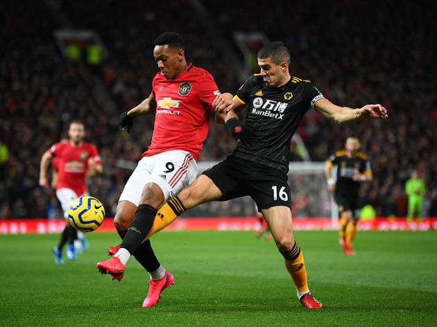 Anthony Martial,Conor Coady