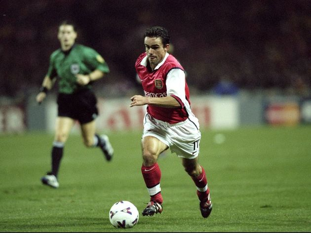 Marc Overmars of Arsenal