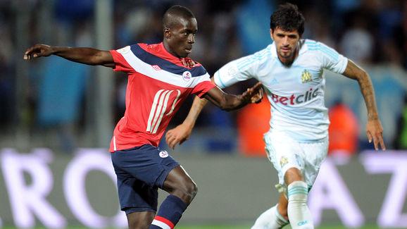 Marseille's Argentinian midfielder Lucho