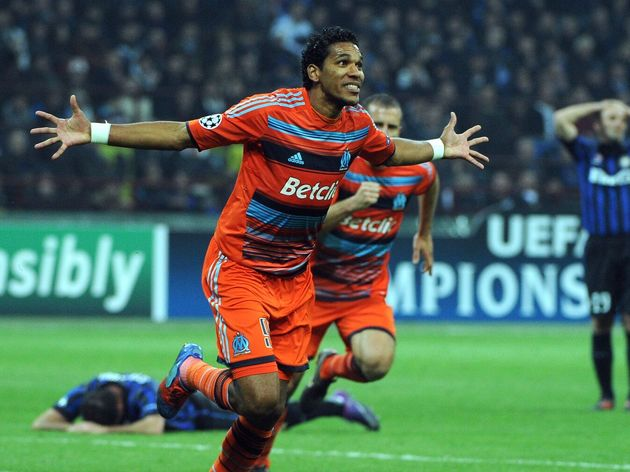Marseille's Brazilian  forward Brandao (