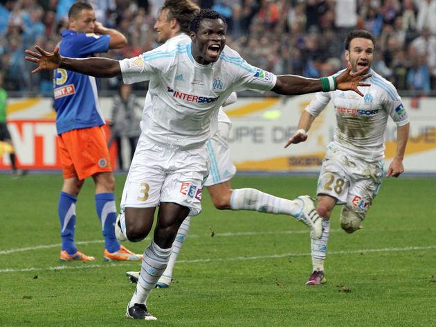 Marseille's Nigerian defender Taiwo Taye