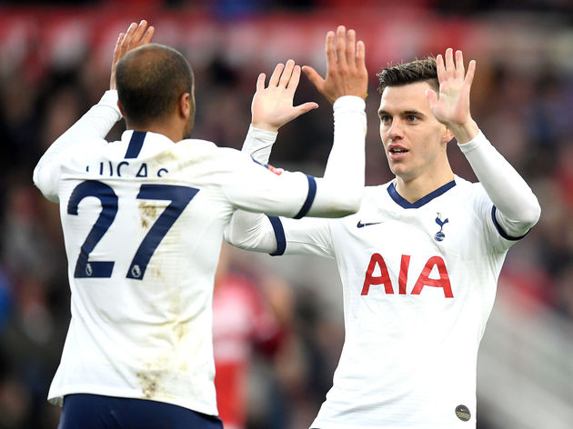 Lucas Moura,Giovani Lo Celso