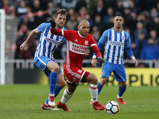 Middlesbrough v Brighton - The Emirates FA Cup Fourth Round