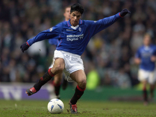 Mikel Arteta of Rangers
