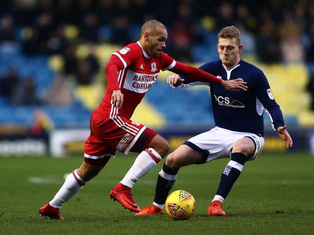 Millwall v Middlesbrough - Sky Bet Championship