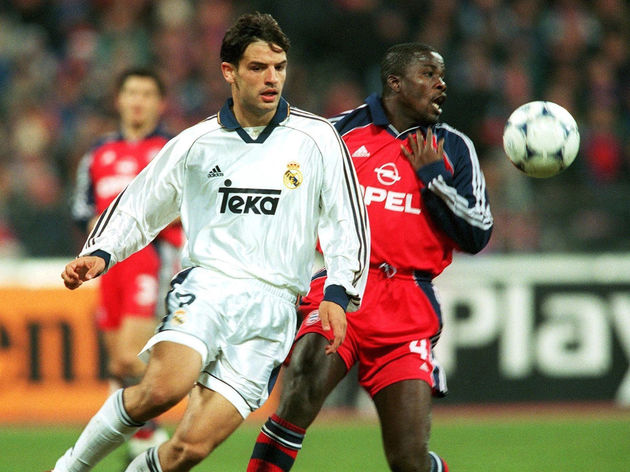 MORIENTES/KUFFOUR/FC BAYERN MUENCHEN - REAL MADRID 4:1