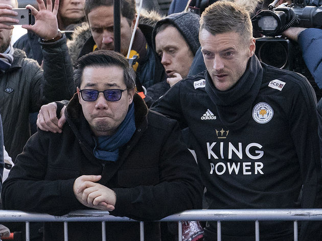 Mourners Pay Tribute After Leicester City Helicopter Crash