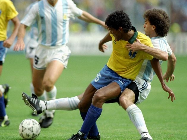 Muller of Brazil and Ruggeri of Argentina