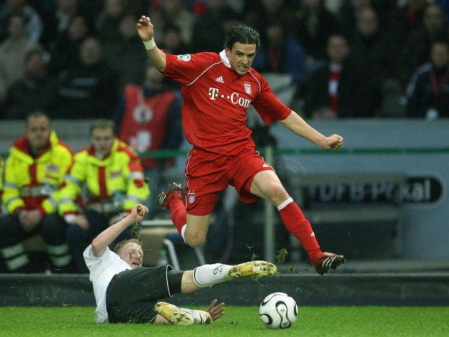 Munich's British midfielder Owen Hargrea
