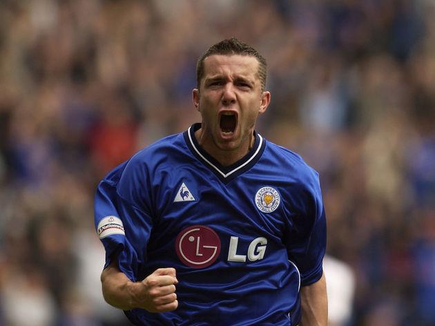 Muzzy Izzet of Leicester City celebrates