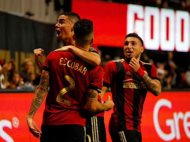New York Red Bulls v Atlanta United FC: Eastern Conference Finals - Leg 1