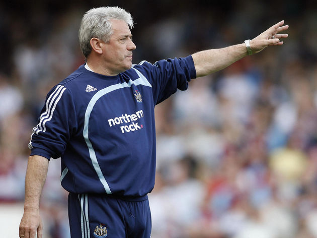 Newcastle's English Manager Kevin Keegan