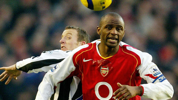 Patrick Vieira,Lee Bowyer