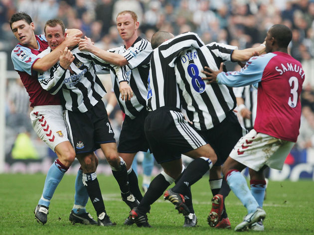 Gareth Barry,Lee Bowyer,Kieron Dyer