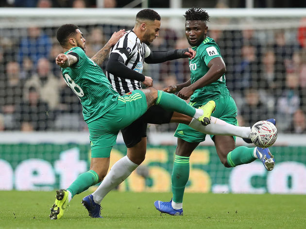 Jamaal Lascelles,Abdoulaye Doucoure