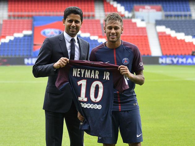 Neymar,Nasser Al-Khelaifi